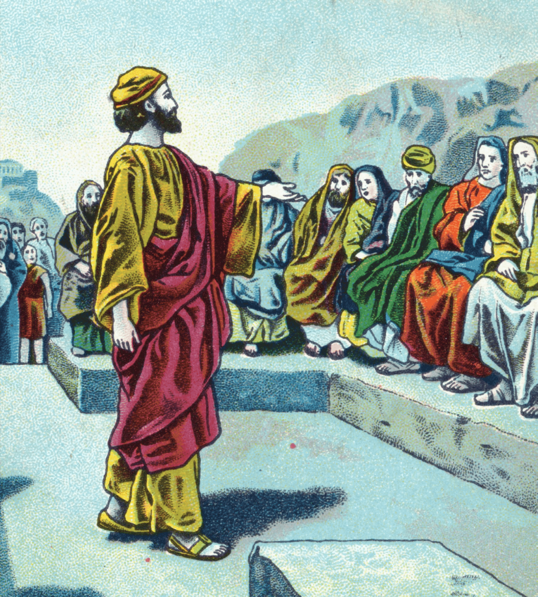 Paul Preaching | Resurrection in Acts