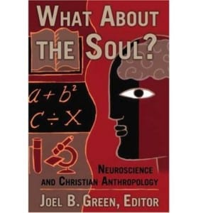 What About the Soul ? Book cover with a head and maths on the cover