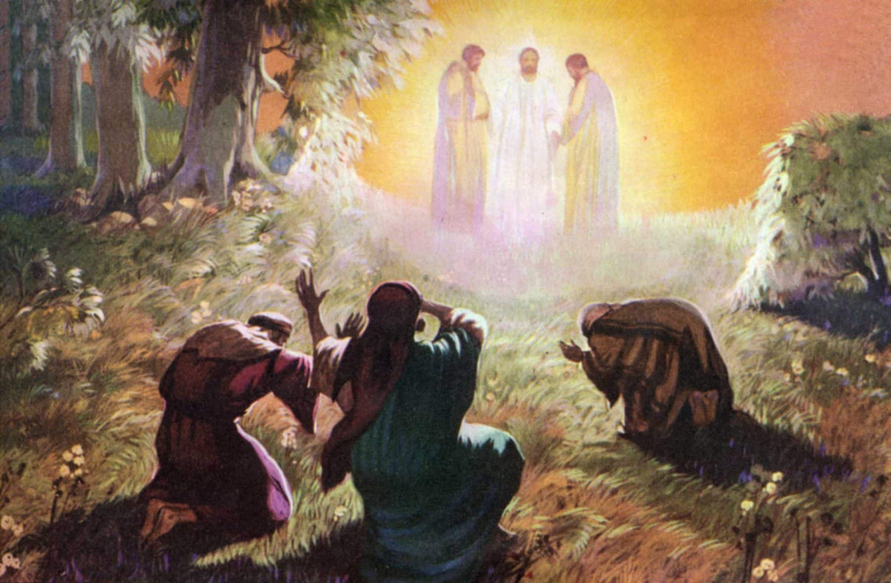 Image result for the mount of transfiguration