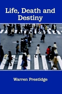 Cover of Life Death and Destiny - crowds crossing the road