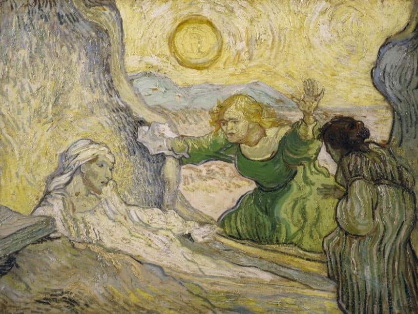 martha and lazarus